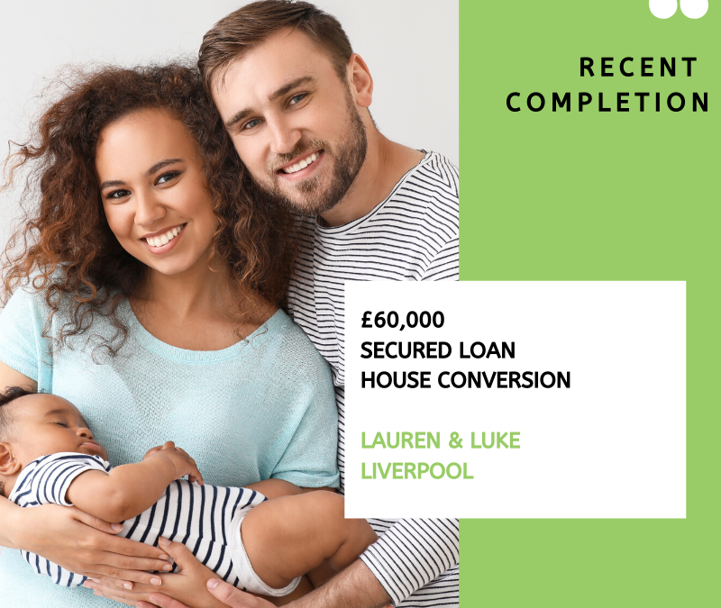 £60,000 secured loan home conversion